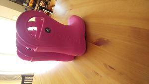 Pink CROCS size 12