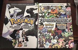 Pokémon Pokedex Black white Volume 1-2 Guides