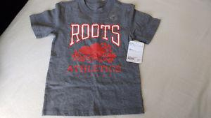 Roots 5/6 boys tshirt new with tags
