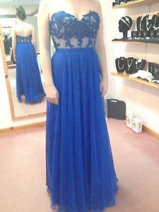 Size 8 La Femme Prom Dress