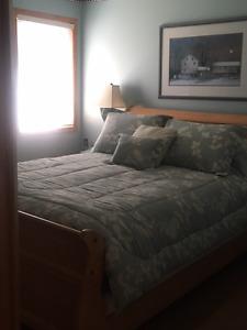 Sleigh Bed Bedroom Suite