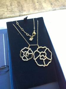 Swarovski pendant & necklace w/ official certificate