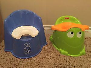 Toddler potty
