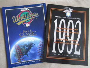 Toronto Blue Jays World Series/ ALCS Programs
