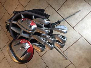 Used Men's RH Nike Golf Club Set