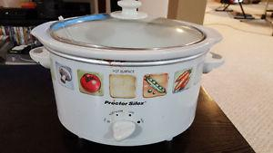Used Proctor Silex Electric Slow Cooker