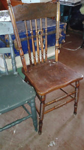 Various Antique items, Chairs, etc