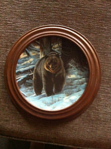 Wildlife collector plates