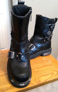 Womens Harley Davidson Riding Boots- Like New 2 pair