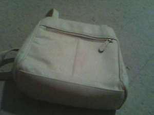 a nice white purse/bag