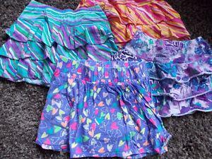 girls summer skorts
