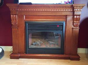 watt electric fireplace