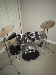 10 piece drum set