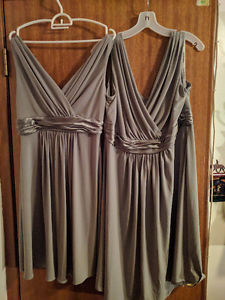 2 bridesmaid dresses, excellent condition!