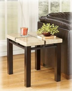 ASHLEY LOWELL COFFEE TABLE SET- COFFEE TABLE AND 2 END