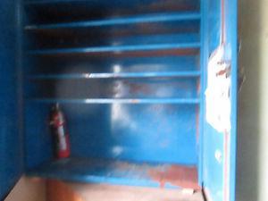 ATLAS Tool Storage Unit / Red Tool Box 3 drawers
