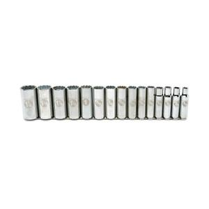 Armstrong 15 piece  Point Socket Set.