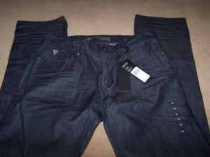 "BRAND NEW WITH TAG ""GUESS"" MENS JEANS SIZE 34,LOW RISE"