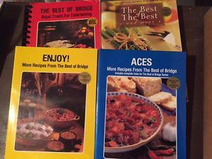Best of Bridge Cookbooks - added one more, same price!