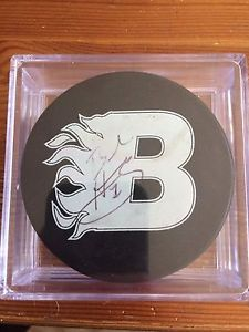 Braden Holtby AAA midget hockey autographed puck