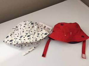 Brand New Summer hats(0-12m)