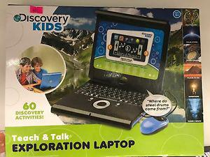 Brand New Teach and Talk Exploration Laptop