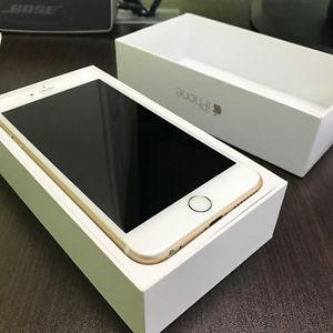 Brand new gold iPhone 6 plus 64gb