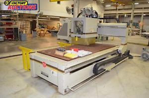 CNC Router ANDI WFD Stratus 8 auto tool changers vacuum pump