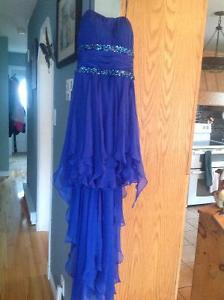 Formal hi-lo dress from Cache
