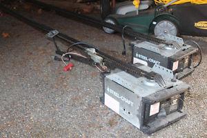 Garage Door Opener (2) - Steel Craft 1/2 HP