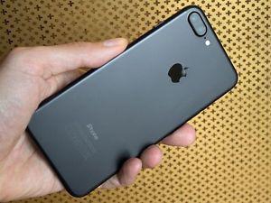 Iphone 7 plus black unlock