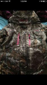 Ladies Camo FXR coat for sale excellent condition