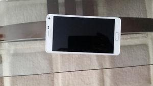 Mint condition Samsung Note 4 - White
