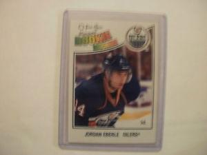 O Pee Chee hockey Jordan Eberle rookie card