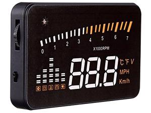 OBD2 Heads up display for a car