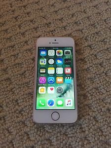 Rose Gold iPhone SE 16gb Bell