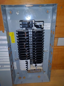 Selling 100 amp panel with breakers
