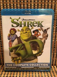 Shrek 1-4 3D (4-Disc Blu-ray)Mike Meyers/Eddie