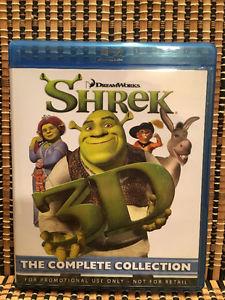 Shrek 1-4 3D (4-Disc Blu-ray)Shrek 2/The Third/Forever After