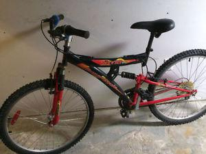 Supercycle Dual shocks mountain bike, (26 Inch tires)