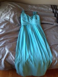Teal bridemaid dress