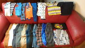 Toddler boys size 4 clothing LOT SALE $60 takes all