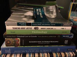 University of Winnipeg textbooks for sale!!!
