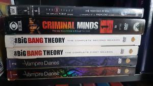 Various TV Seasons for Sale!