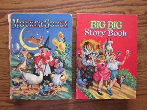 Vintage Children's Story Books
