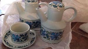 "Vintage Coffee Set - ""Stonehenge - Midwinter"""