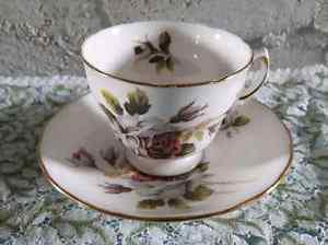 Vintage Royal Vale Ridgeway Pottery Tea Cup and Saucer