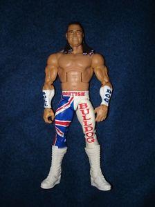 WWE / WWF elite - British Bulldog wrestling action figure