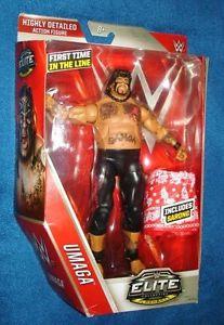WWE elite - Umaga wrestling action figure