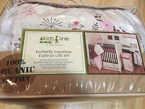 Wanted: 100% organic Kidsline butterfly meadow crib set